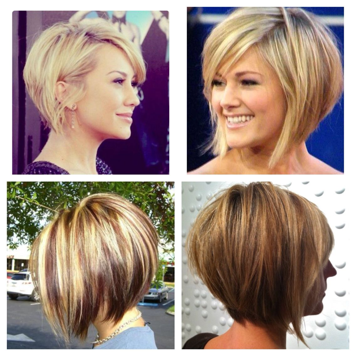 Stacked bob | Hair Love | Hair cuts, Short hair styles for ...