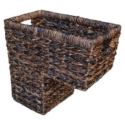 Target : Threshold™ Alicia Small Stair Step Basket : Image Zoom