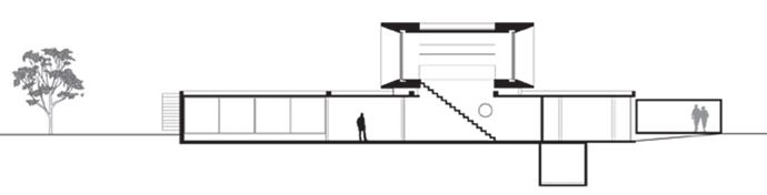 Osler House- Minimalist Architecture with Amazing Garden and Large Swimming Pool