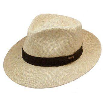 f20f23c435e05 Stetson Retro Panama Straw Hat.