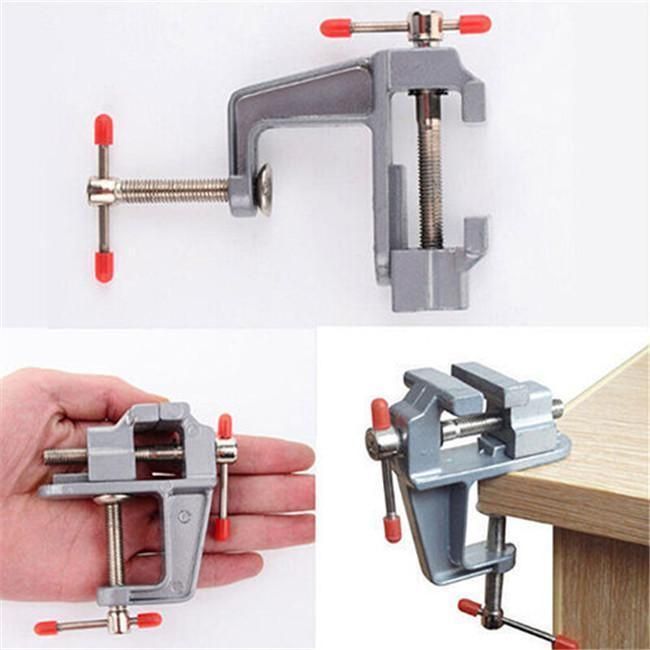 High Grade Metal Mini Vice Household Workbench Small Plier Bench Vice Accessory