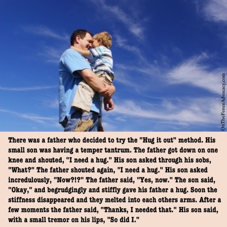 Awww,  good dad right there
