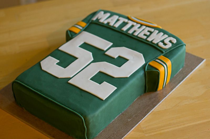 Crazy Beautiful Cakes Cake Gallery Green Bay Packers Jersey Cake