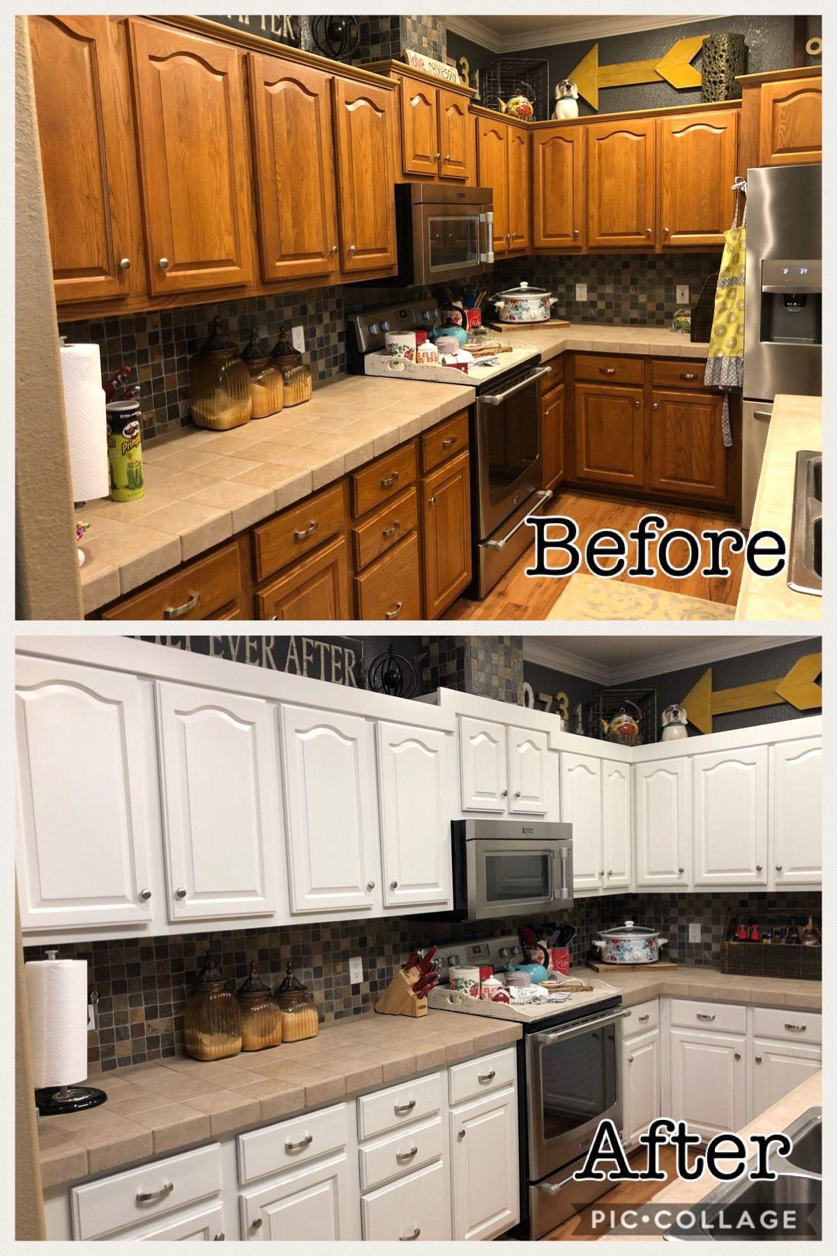 How to paint kitchen (DIY Kitchen Makeover