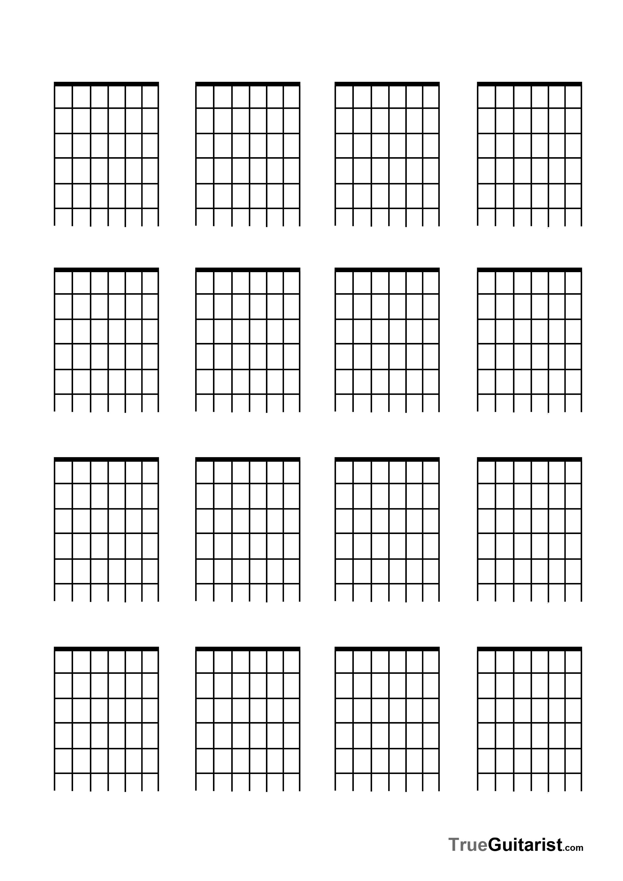 String Guitar Free Blank Templates  Guitar    Guitars
