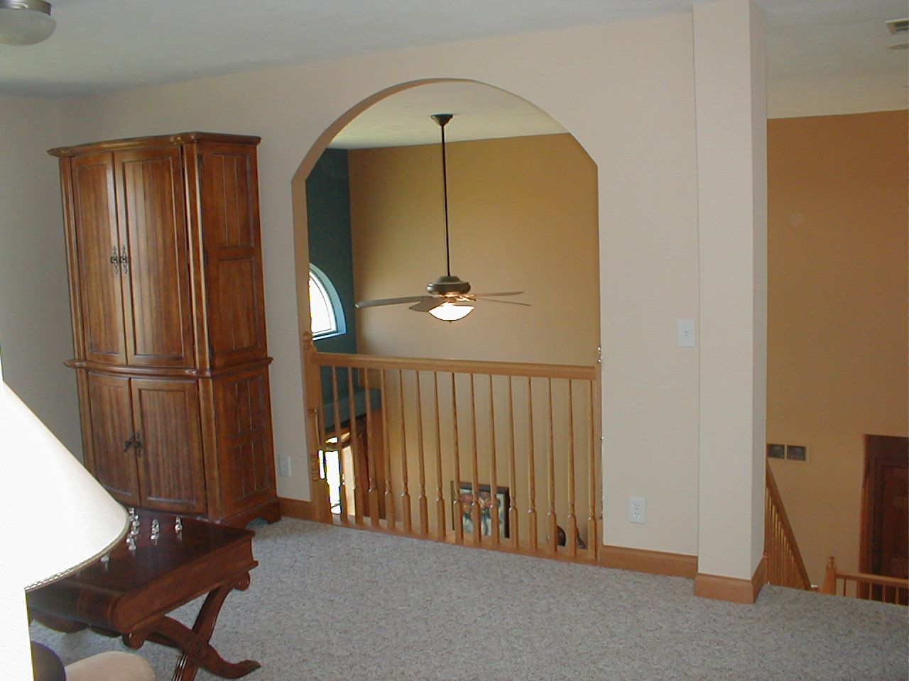 Upstairs of a Pine Ridge Home