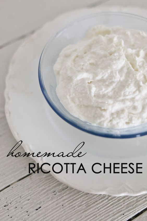 Find out how to take 3 common ingredients and easily make homemade Ricotta cheese. So creamy and delicious.