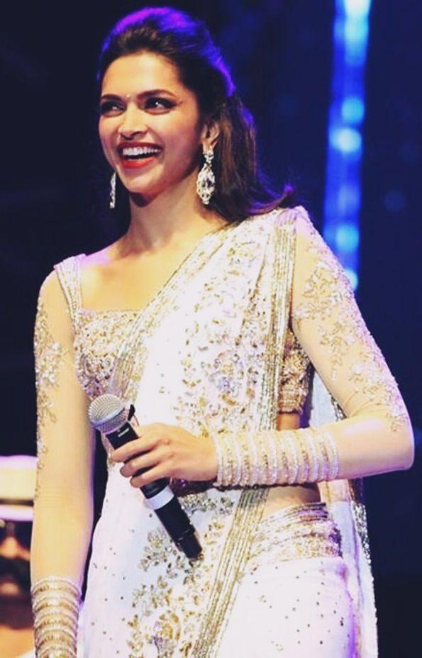Deepika Padukone | Netted blouse designs, Full sleeves ...