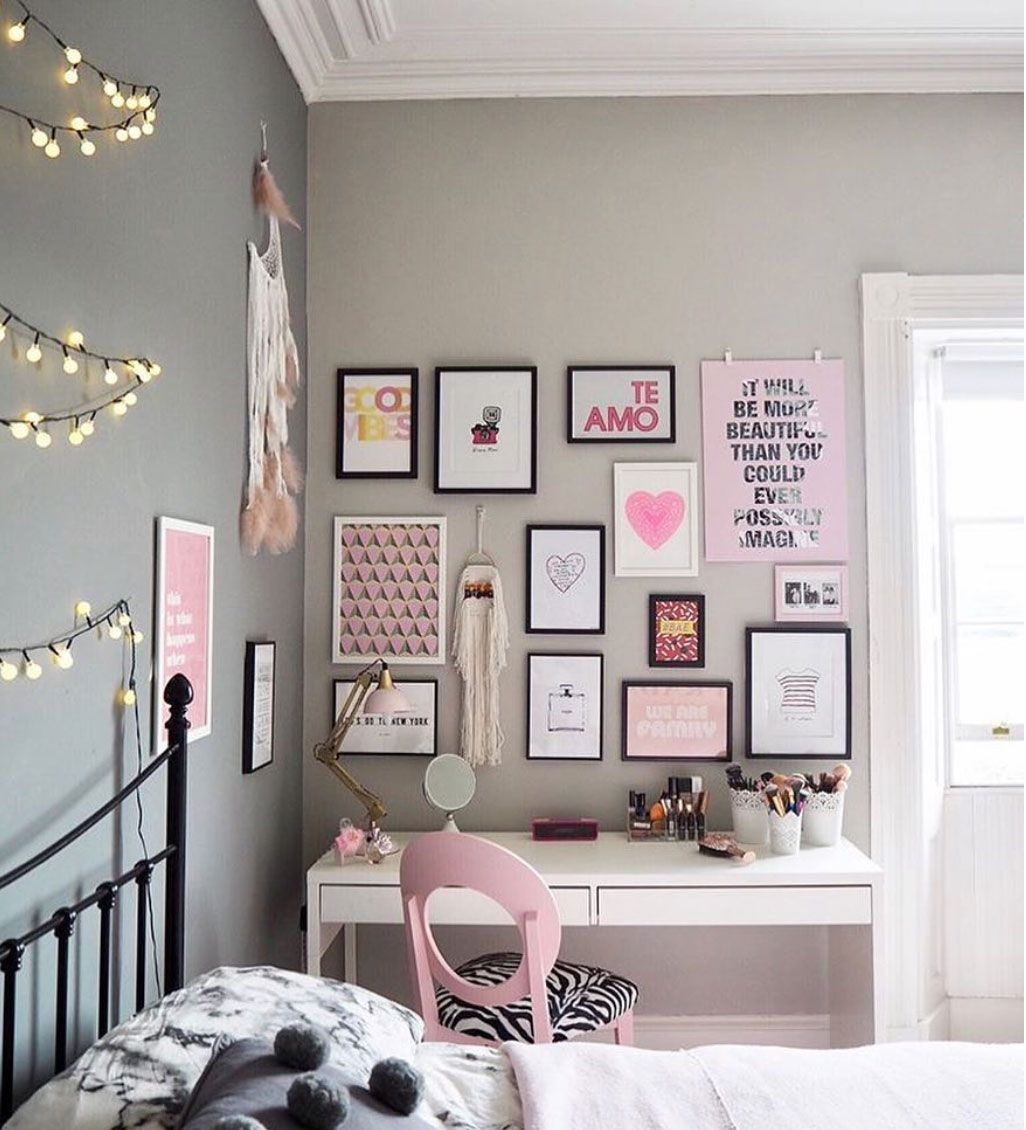 How to create a cool gallery wall that reflects your personality