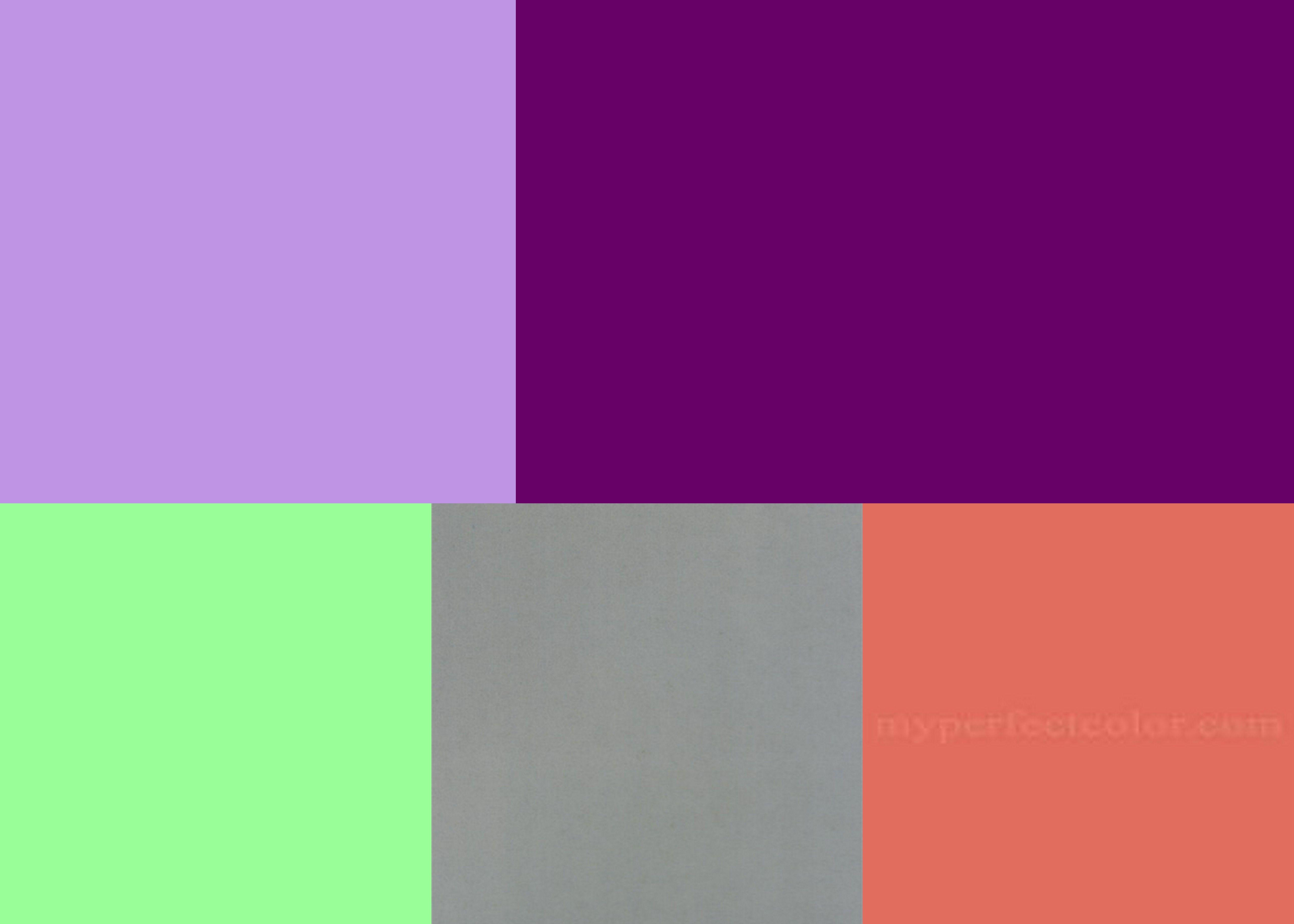 Accent Colors For Green Color Palette Violet Lavender Mint Green Coral Accent