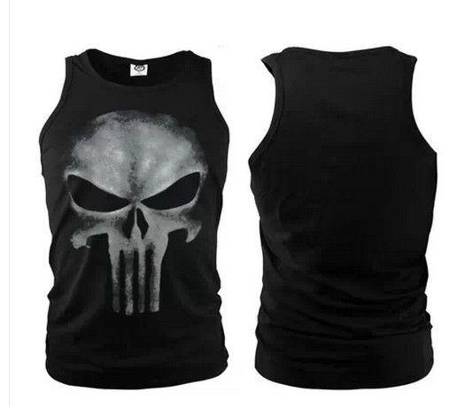 d70913a20 THE PUNISHER tshirt skull logo tee eminem Marvel Comics Seal team shirt # Marvel