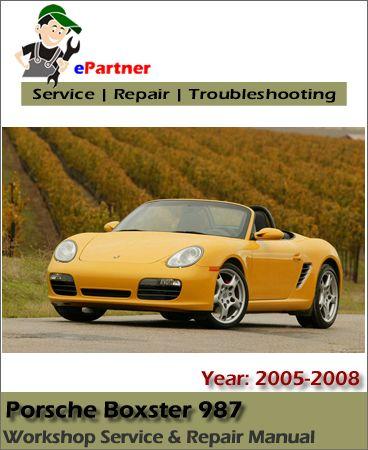 download porsche boxster 987 service repair manual 2005 2008 rh pinterest com 2018 VW Beetle 1995 VW Beetle