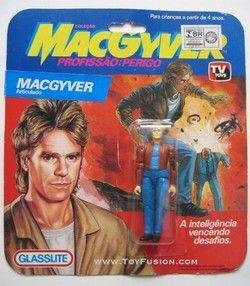Macgyver Action Figure Figur Lustig Filme