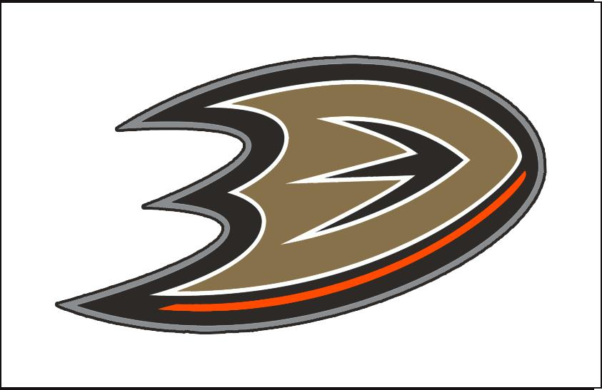 Anaheim Ducks Jersey Logo 2015 Webbed Bronze Duck Foot