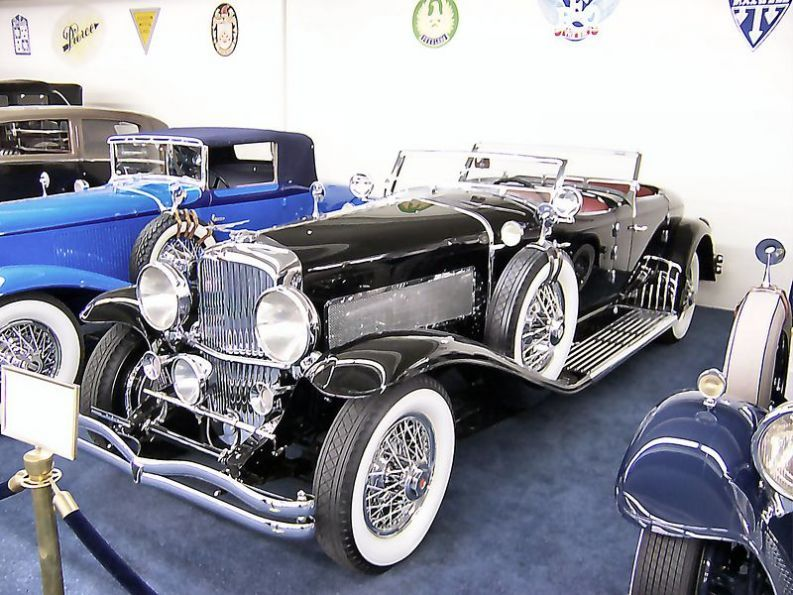 8. 1928 Duesenberg Model J: The car is considered to be the first superca