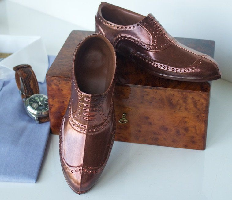 Chocolate shoes arent just for women love these brogues