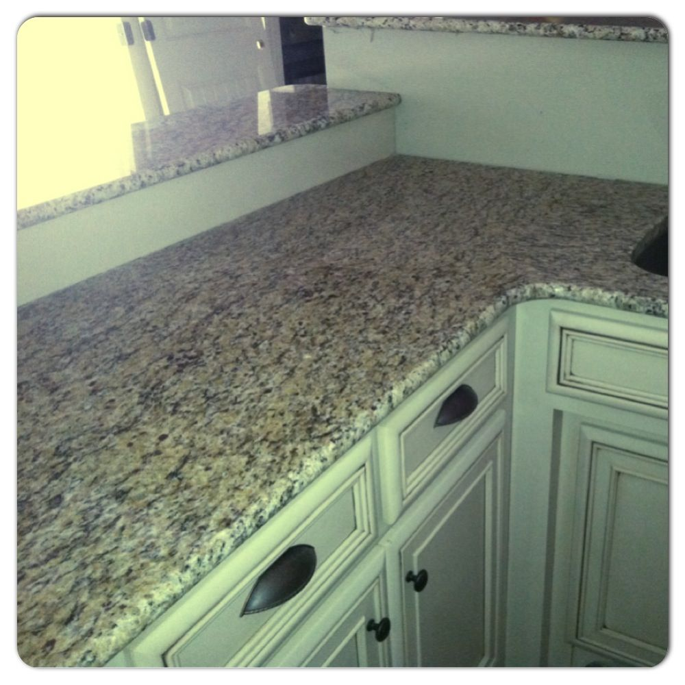 Kitchen Granite! Amber Yellow. Kitchen CountertopsBacksplashGraniteAmber