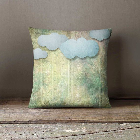 Paper Clouds Shabby Pillowcase Decorative Throw Pillow Cover Cushion Case Designer Pillow Case Birth Decorative Throw Pillow Covers Decorative Throw Pillows
