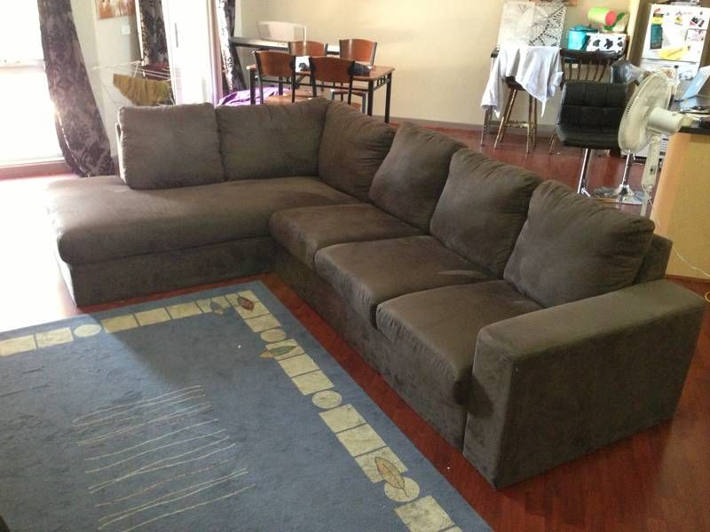Best Brown Micro Suede L Shaped Couch 300 Kensington 640 x 480