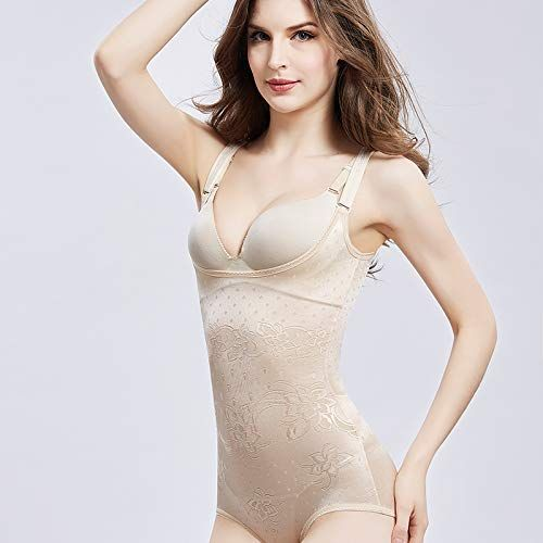 5e0f3a1c9 Clayton House Women s Body Shaper Smooth Wear Slimmer Open Bust Shapewear  Bodysuits Trainer with Firm Tummy Control