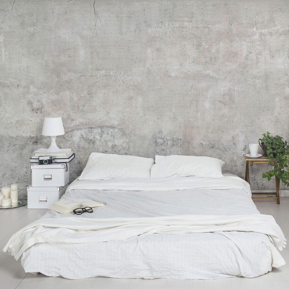 details zu vlies tapete fototapeten shabby beton optik stein tapete steinoptik graue xxl 3d. Black Bedroom Furniture Sets. Home Design Ideas