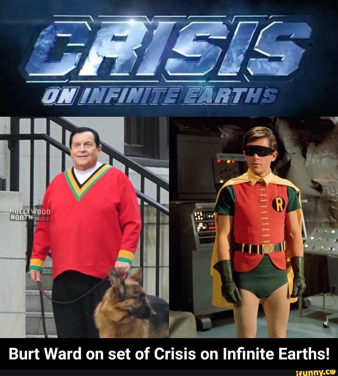 burt ward crisis on infinite earths
