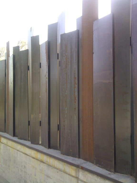 Vallas para todas las viviendas acero decor d - Viviendas de acero ...