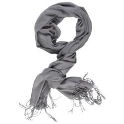 @Overstock - This stylish scarf by Hailey Jeans Co. features fringe detailing. Constructed of a woven pashmina blend, this lightweight scarf is comfortable and easy to wear.http://www.overstock.com/Clothing-Shoes/Hailey-Jeans-Co-Womens-Fringe-Detail-Pashmina-Scarf/6596126/product.html?CID=214117 $13.99