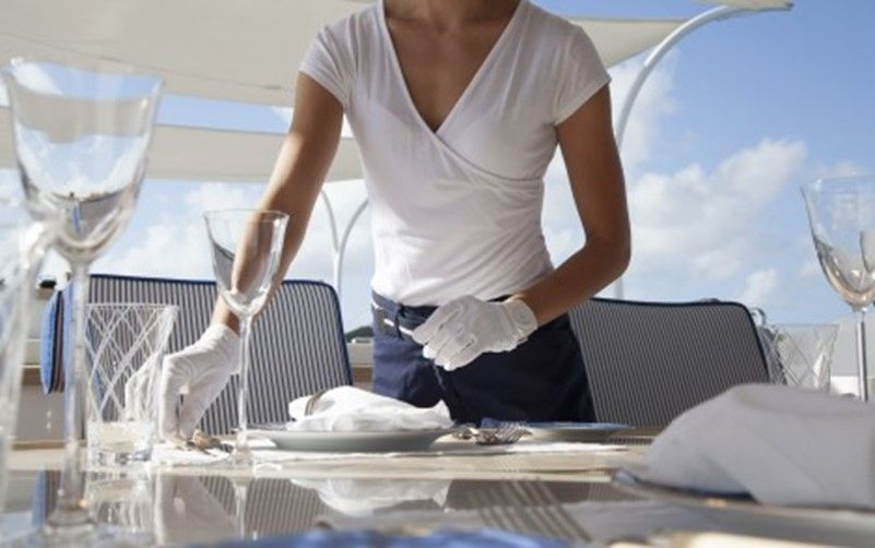 How to get a job as a stewardess on a superyacht