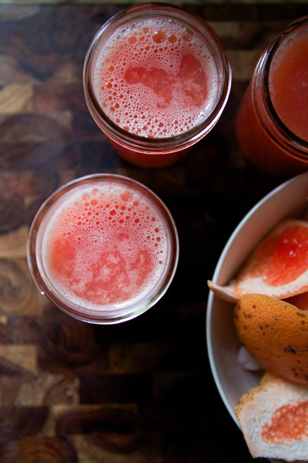 healthy living + two juice recipes