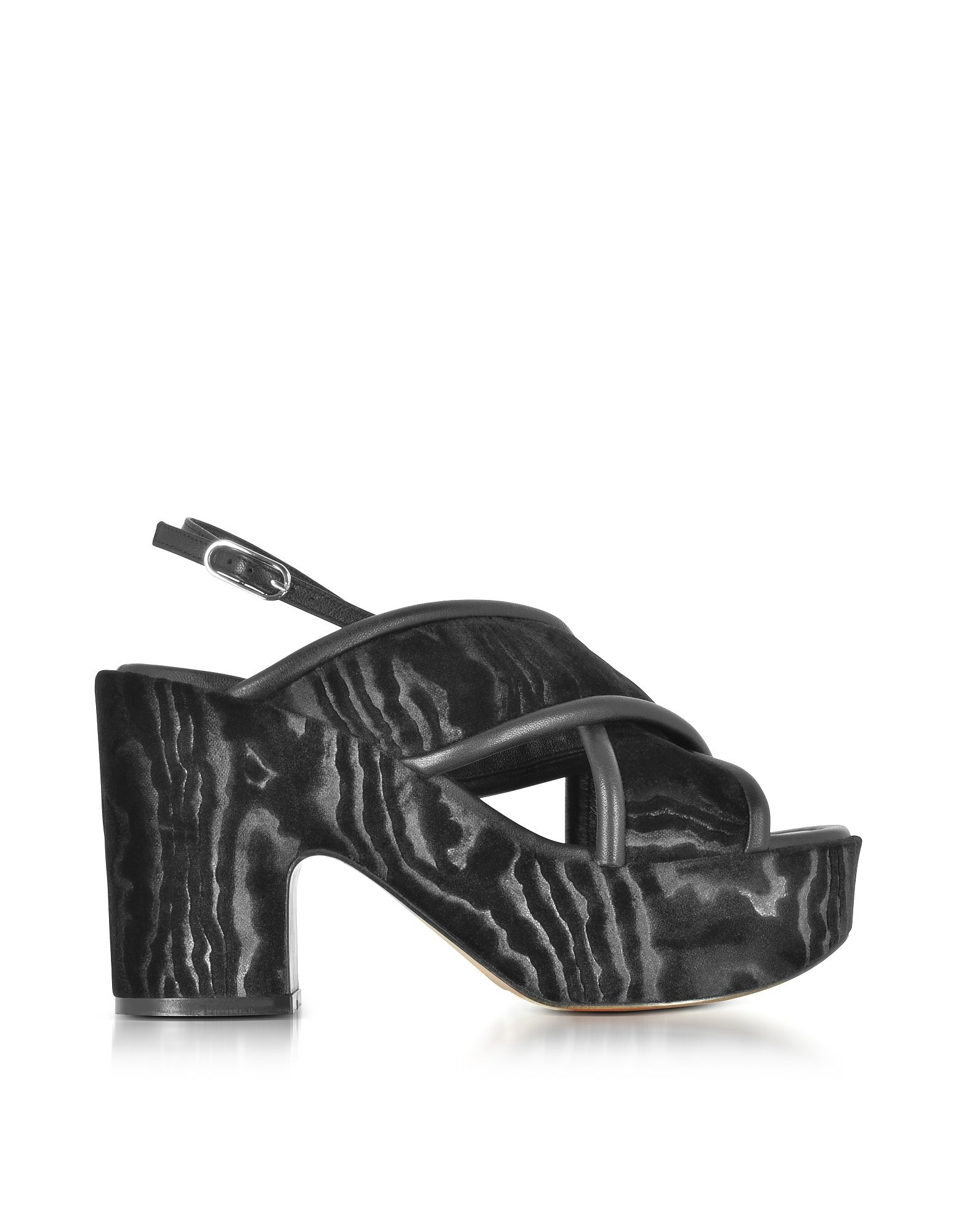 12f93dc0d ROBERT CLERGERIE ROBERT CLERGERIE WOMEN S BLACK VELVET SANDALS.   robertclergerie  shoes