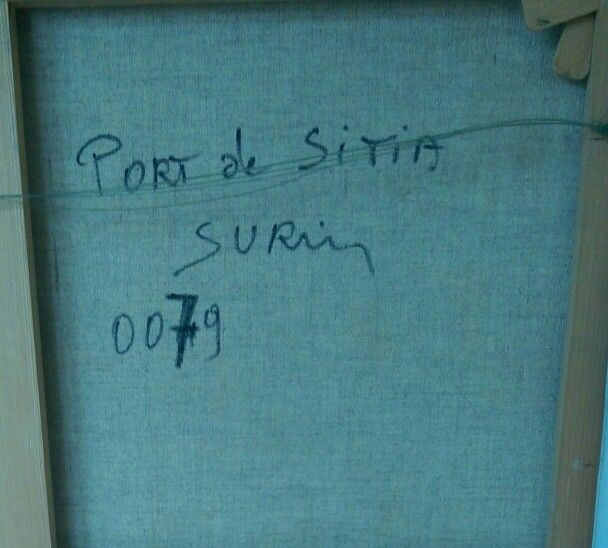 Port de Sitia, Jean Paul Surin.