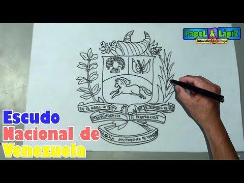 Pin De Asereth01 Rodriguez En Vestidos Y Algo Mas Escudo De Venezuela Aprender A Dibujar Escudo