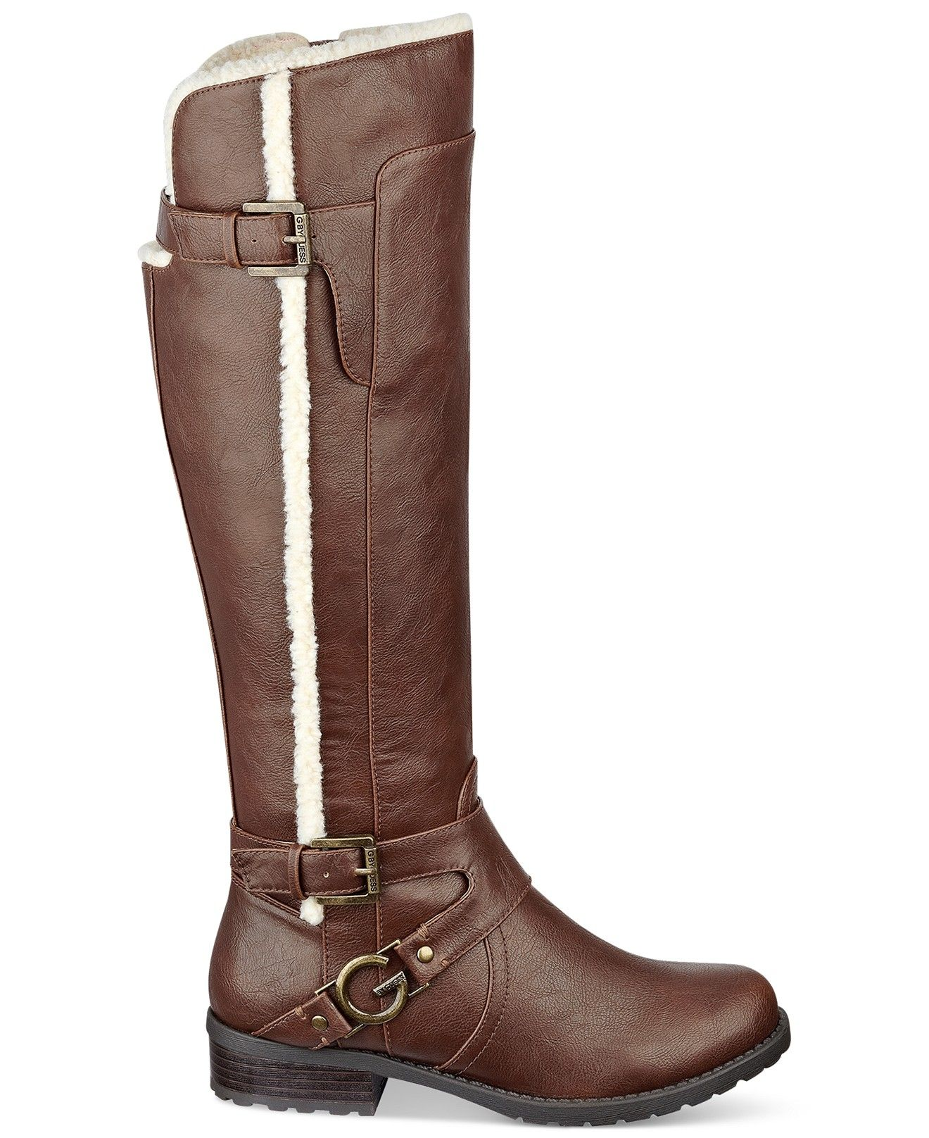 f1514d6d89f G by GUESS Hollow Riding Boots - Sale & Clearance - Shoes - Macy's ...