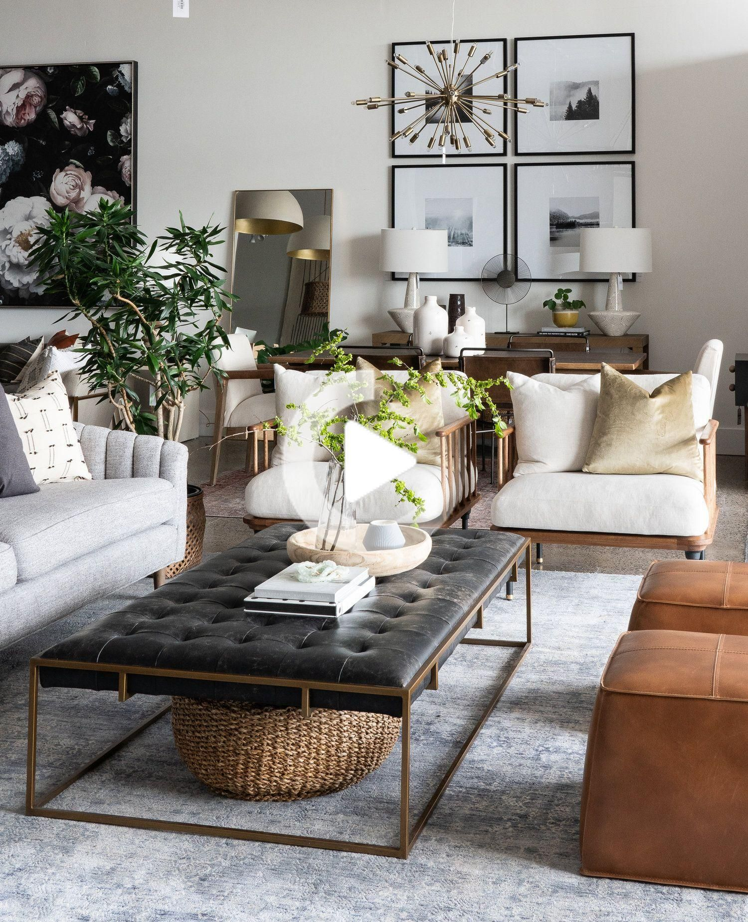 Our Top Five Tips For Styling A Coffee Table Leclair Decor In 2020 Living Room Coffee Table Contemporary Living Room Design Room Decor