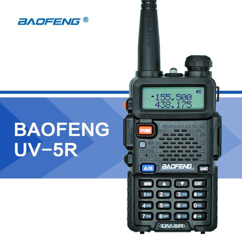 Baofeng UV-5R LCD Two Way Ham Radio VHF UHF 2 Band Walkie Talkie Transceiver