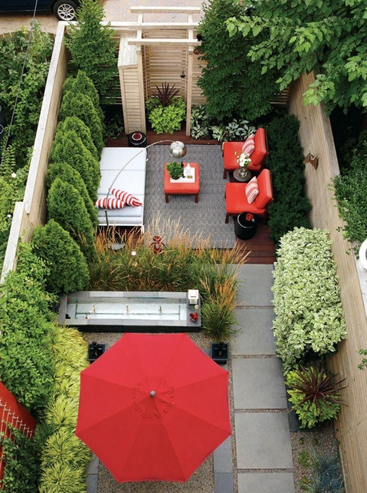 Inspiration Et Idees Pour Un Jardin En Longueur Joli Jardin