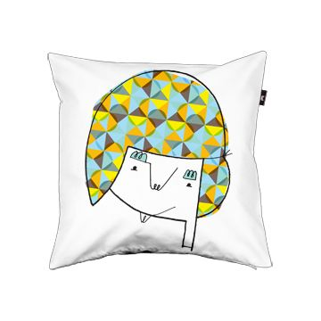 "Pillow cover ""Young Man"" by Valerydesignwrks from Edmonton CA"
