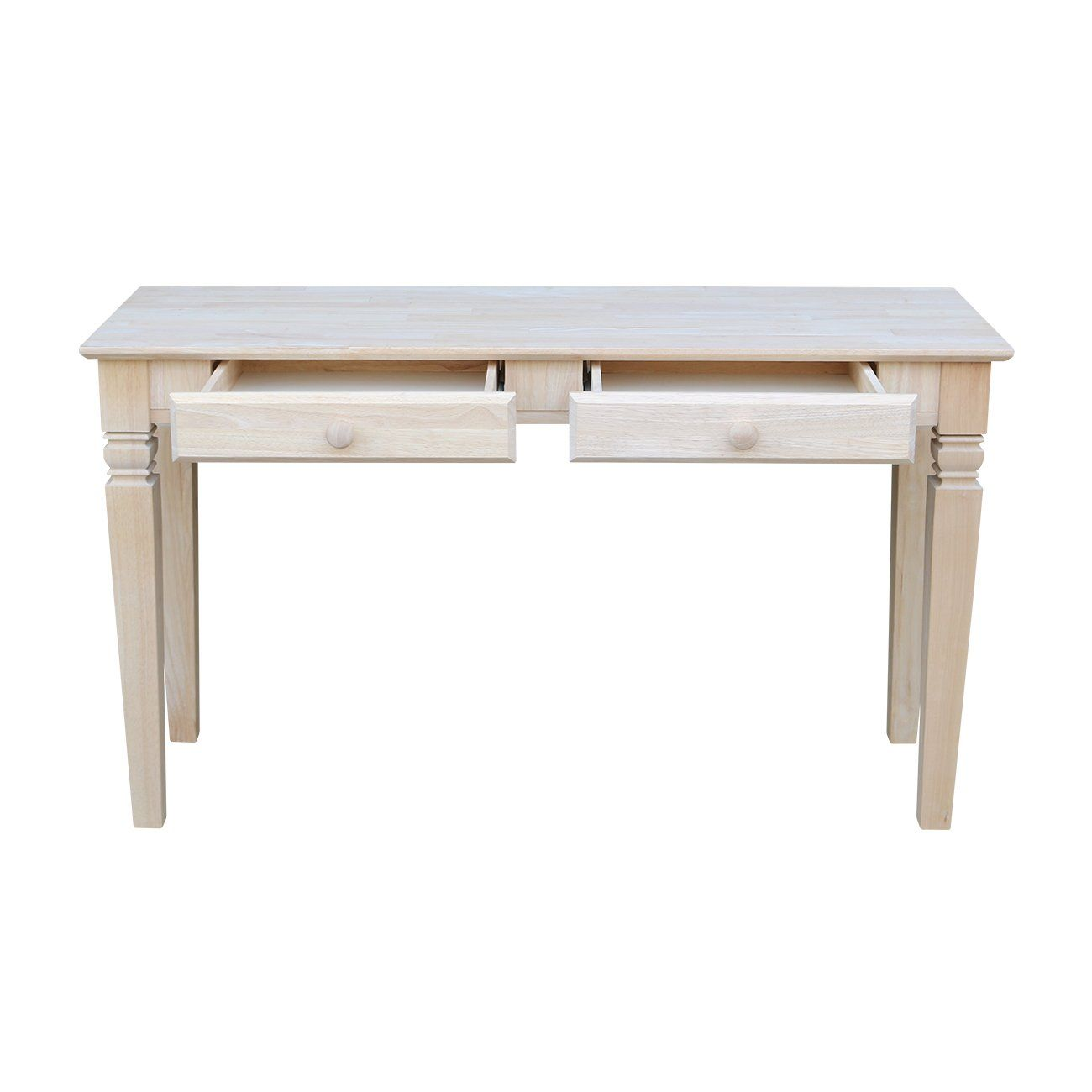 International Concepts Ot60s2 Java Sofa Table With 2 Drawers Unfinished See This Great Product It Is An A Sofa Table Entry Table Diy Living Room Furniture