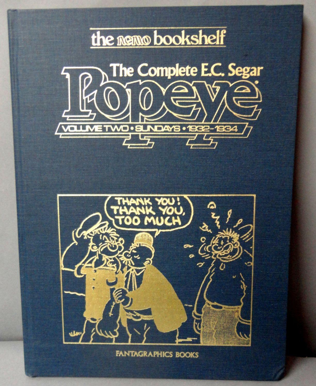 Complete e c segar popeye vol 2 thimble theatre sunday