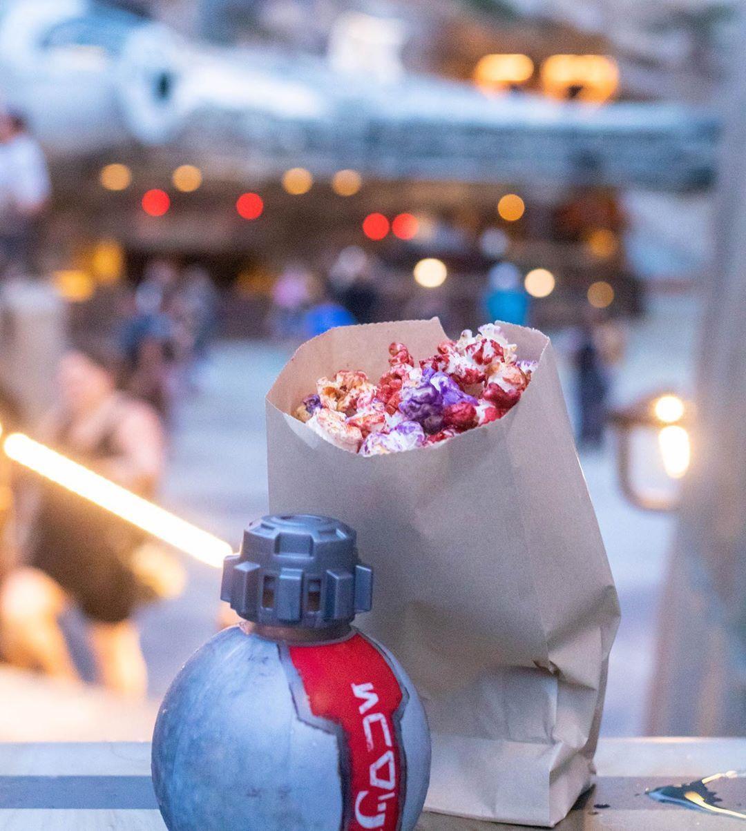 Gluten Free Popcorn from in Walt Disney World's Galaxy's