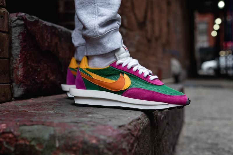 05d1a238f4 On-Feet with the sacai x Nike LDWaffle Collection | Fresh Sneakers ...