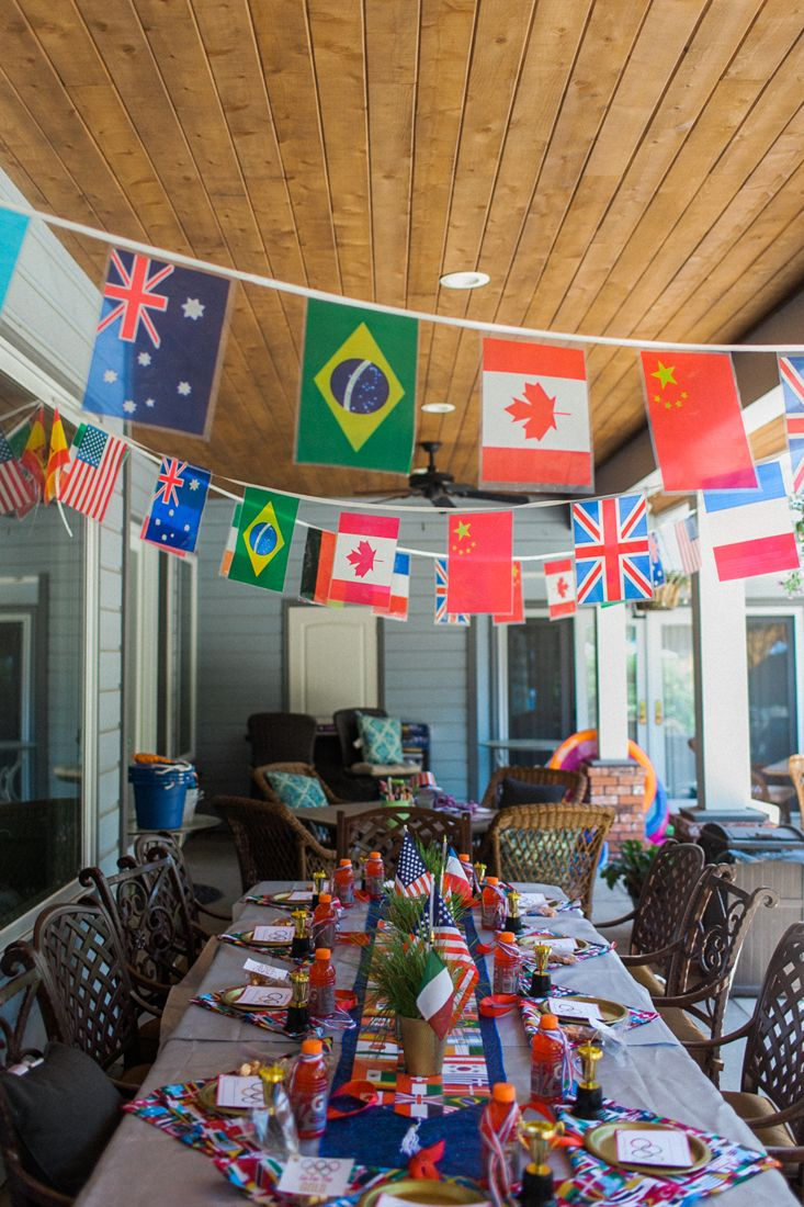 Everything you need to throw the best Olympic party