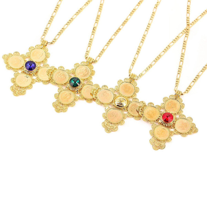 Fine 10k Yellow Gold Harp Music Charm Pendant