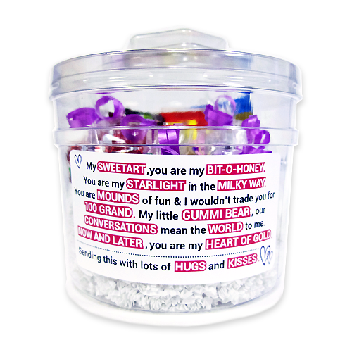 Love Candy Poem Gift Tub Candy Poems Starlight Mints Cute Love Poems