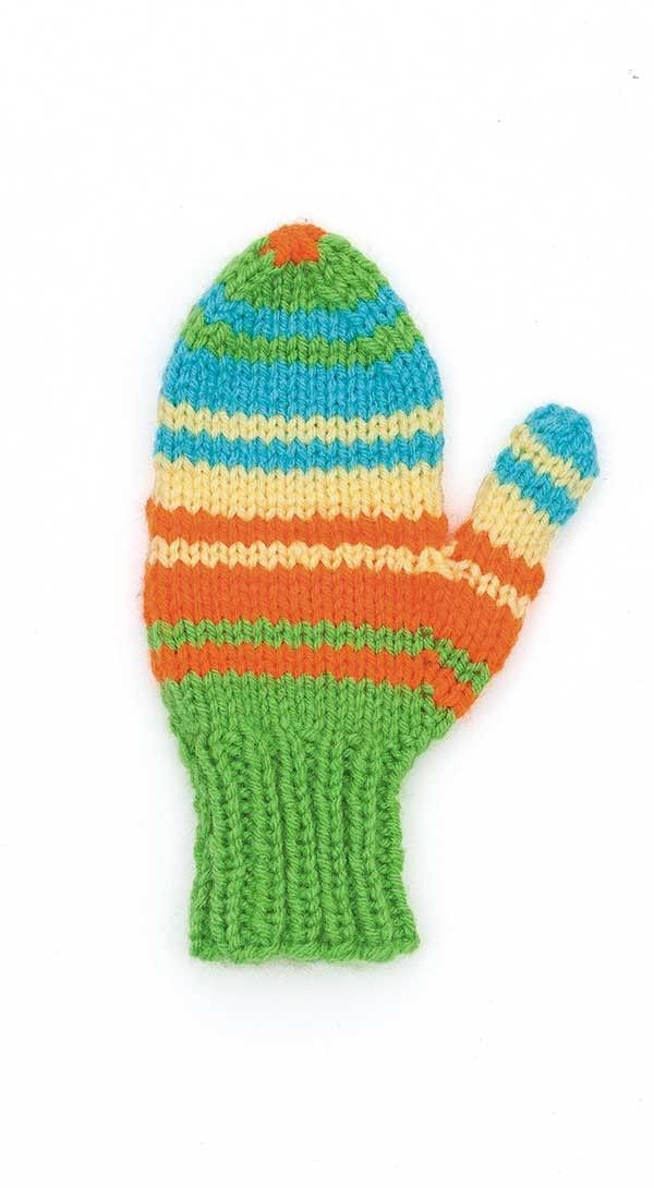 Quick and Easy Mittens   Granny square crochet pattern ...