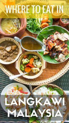 Where To Eat In Langkawi Malaysia Langkawi International Recipes Malaysia Travel