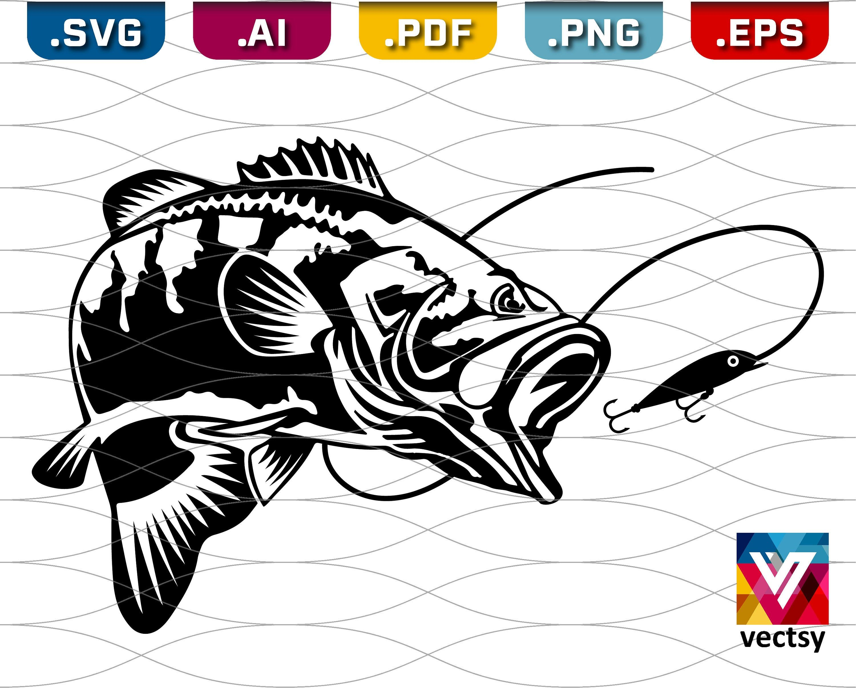 Download Banners Signs Paper Party Supplies Fishing Lure Svg Pattern Fish Lure Tumbler For Cricut Sublimation Silhouette Cut Files Download Clipart Print T Shirt