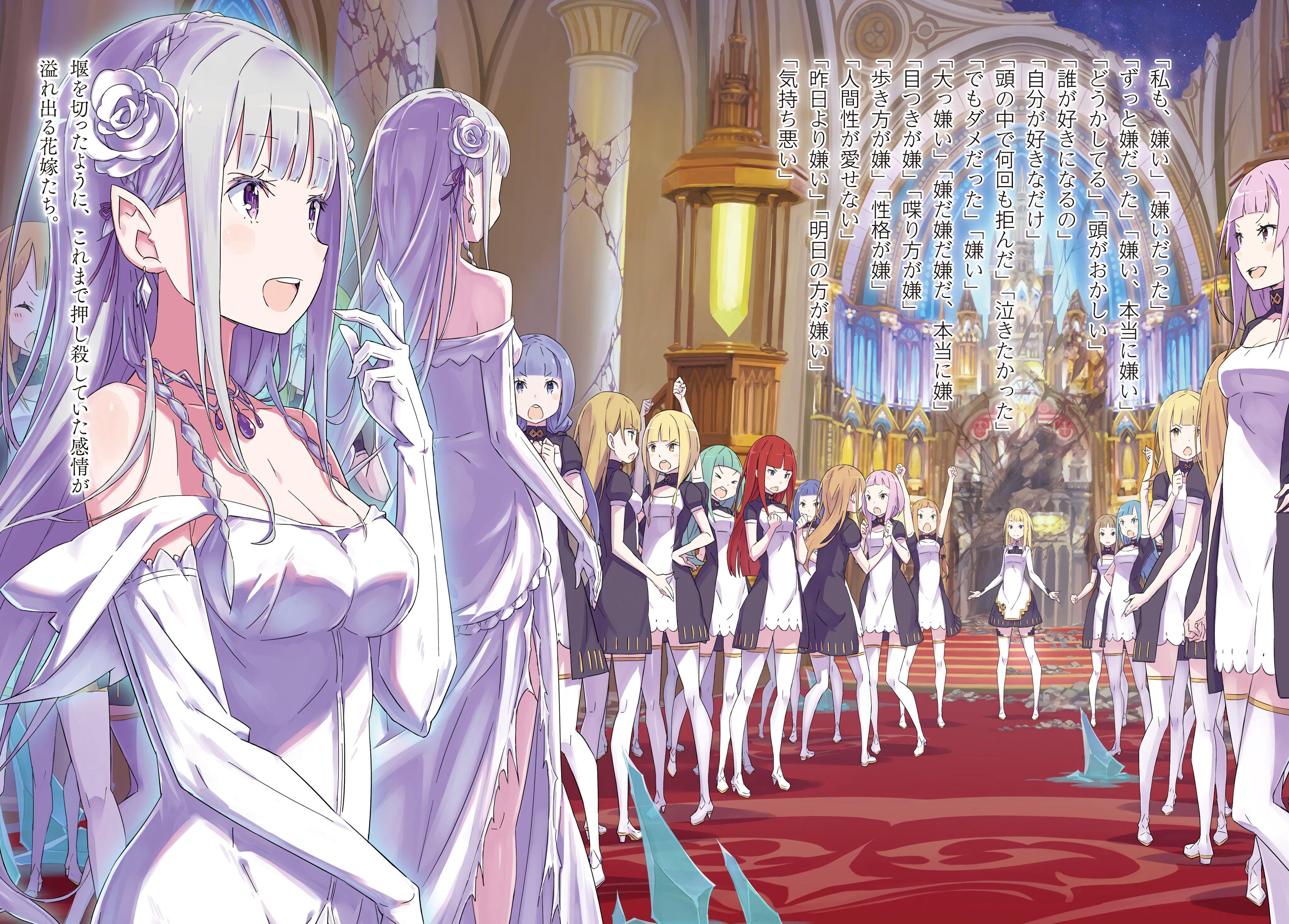 Re Zero Light Novel Volume 19 Re Zero Wiki Fandom Powered By