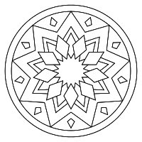 Print And Color Mandalas Online Mandala Coloring Pages Mandala Coloring Coloring Pages